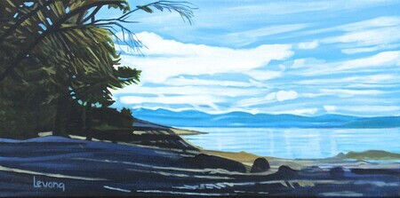 Moses Point Panorama - 10x20